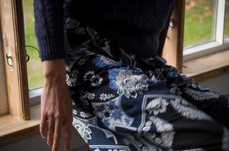 Culotte-housujen kuosi