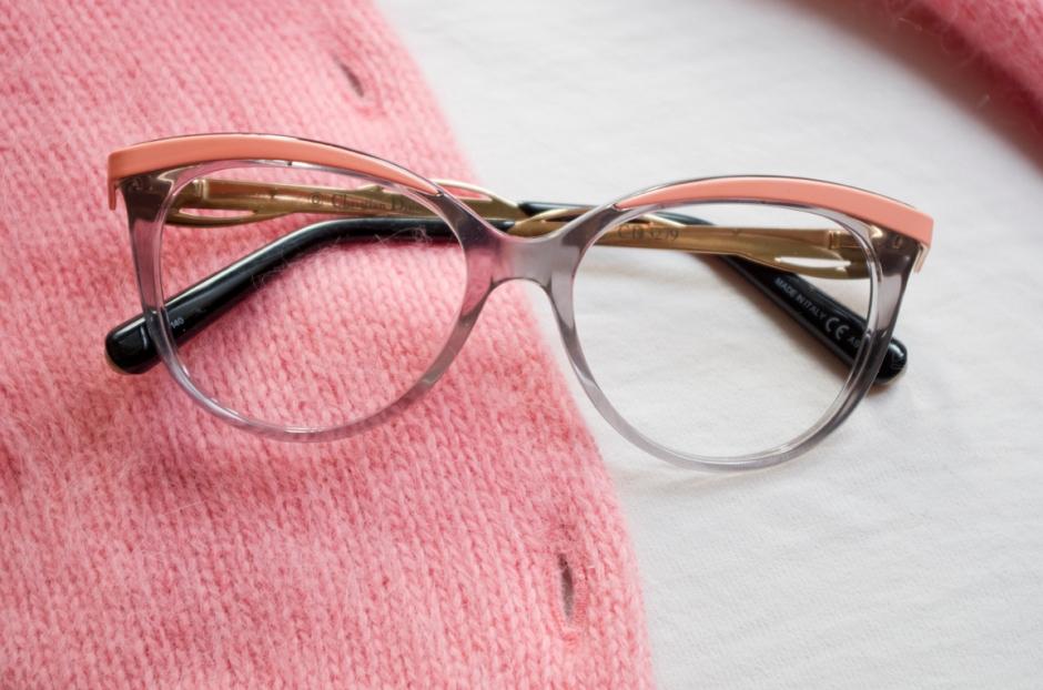 Dior-silmälasit Keops-optikolta.