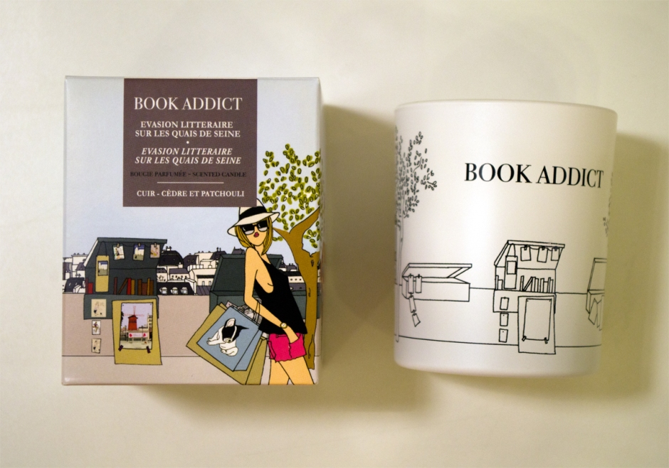 Book Addict -kynttilä, Tian Veranta/Hanko – www.stillme.fi