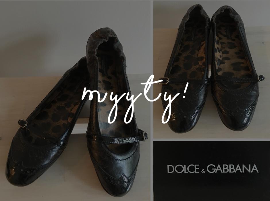 Ballerinat, Dolce & Gabbana | www.stillme.fi