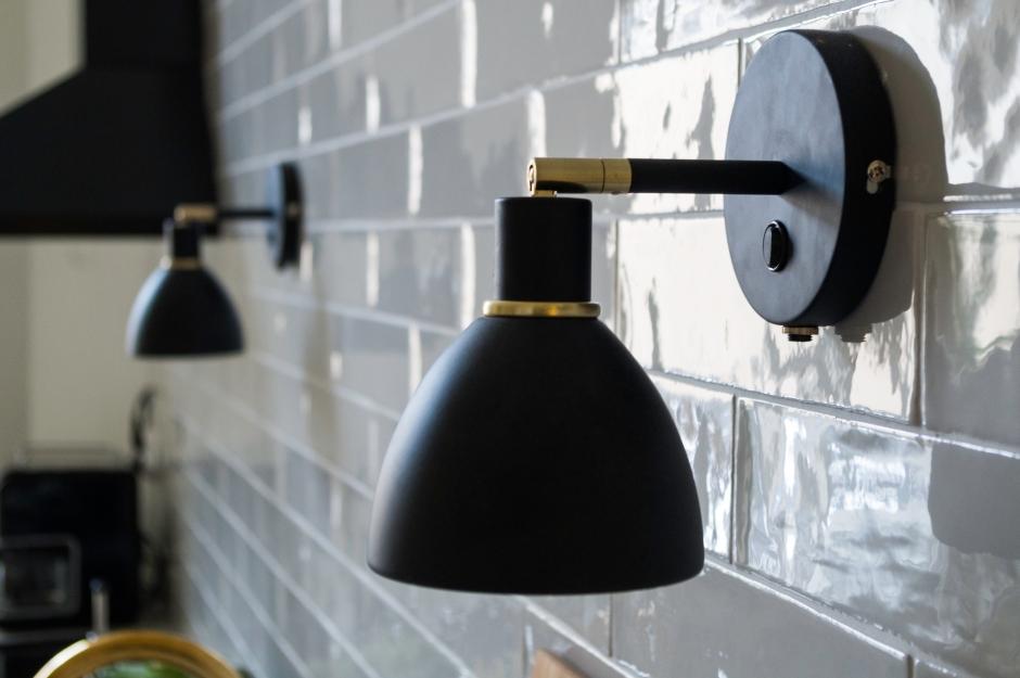 Nordlux seinävalaisin keittiön seinälle | www.stillme.fi