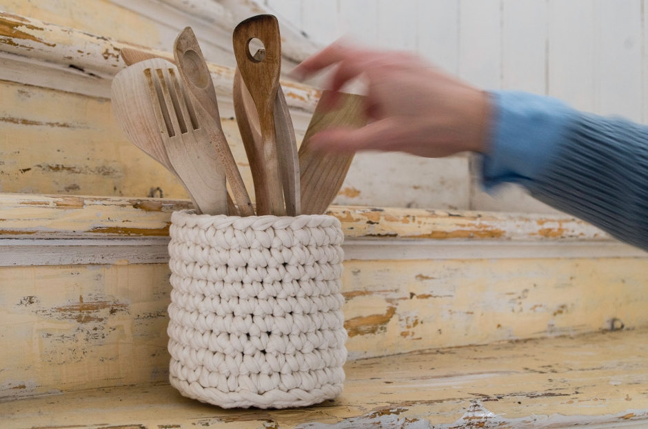 Miten virkata sisustuskori | www.stillme.fi